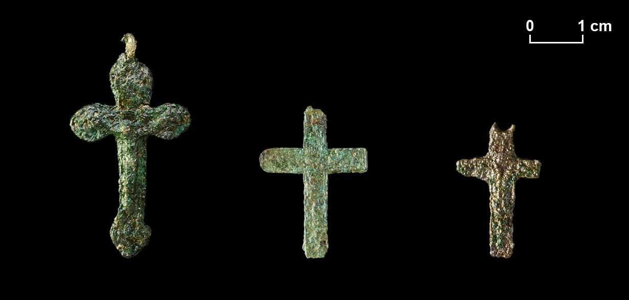 Drei Kreuze.